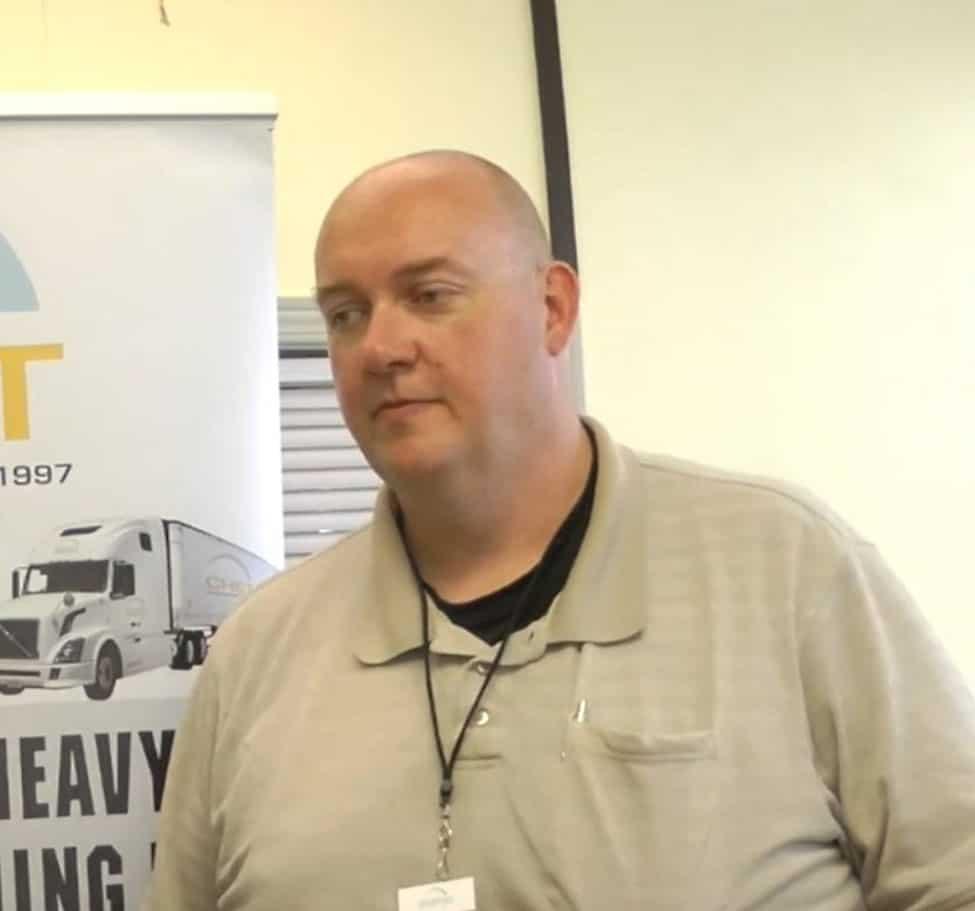 Richard Brown Testimonial for IRIS professional truck driver training platform